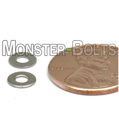 $4.31 • Buy M2.5 / 2.5mm  Stainless Steel Flat Washer  DIN 125A  Grade 18-8 / A2-70