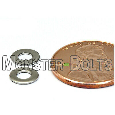 $5.17 • Buy M3 / 3mm  Stainless Steel Flat Washer  DIN 125A  Grade 18-8 / A2-70