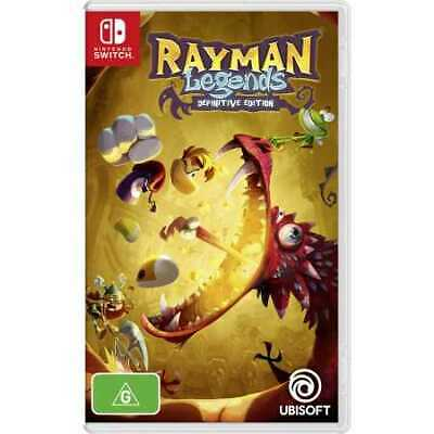 AU24 • Buy Rayman Legends Definitive Edition - Nintendo Switch