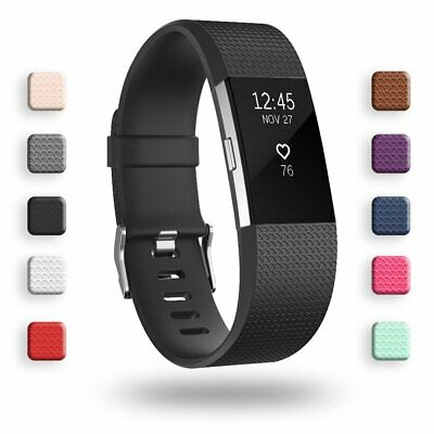 AU16.73 • Buy Fitbit Charge 2/classic/special Edition Strap Band Replacement Adjust Durable