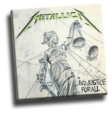 Metallica And Justice For All Giclee Canvas Album Cover Picture Art • 18.60£