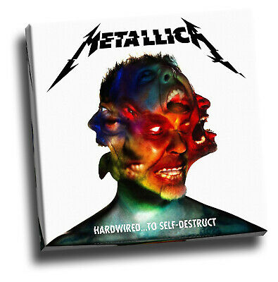 Metallica Hardwired To Self Destruct Giclee Canvas Album Cover Picture Art • 18.60£