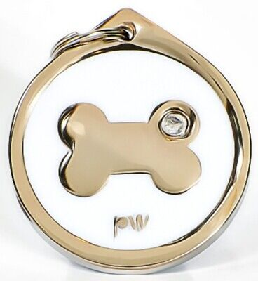 Personalised Pet Dog Cat ID Identity Collar Tags Discs FREE  UK DELIVERY • 3.99£