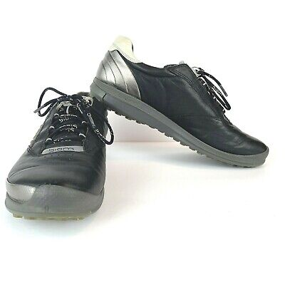 9ac2acf92eb Ecco Biom Natural Motion Spikeless Golf Shoes Mens Size 41 US 8 BLACK YAK •  63.99