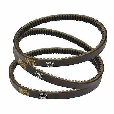 $ CDN31.32 • Buy 3pc Drive Belt Yerf Dog 203591 Q430203W Q43103W Q43203W Manco Carter 5.5hp 6.5hp