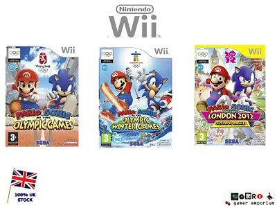 Wii Mario & Sonic Olympic Games / Winter / London 2012 Game Series  Wii & Wii U  • 10.90£