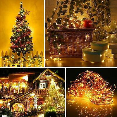 $12.99 • Buy 5M 10M USB LED Copper Wire String Fairy Light Strip Lamp Waterproof Music Remote