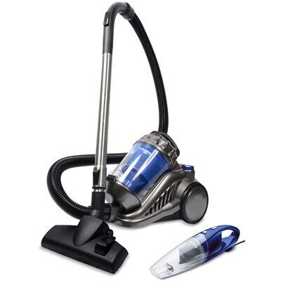 AU99 • Buy Piranha Royale 2400W Vacuum With Handheld Vacuum Cleaner - Blue