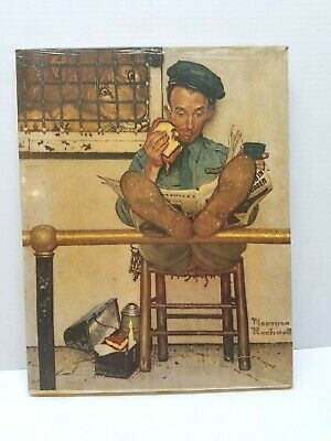 $ CDN47.33 • Buy Norman Rockwell Print On Canvas The Lion's  Share - January 9, 1954 - 1972 C.P.C