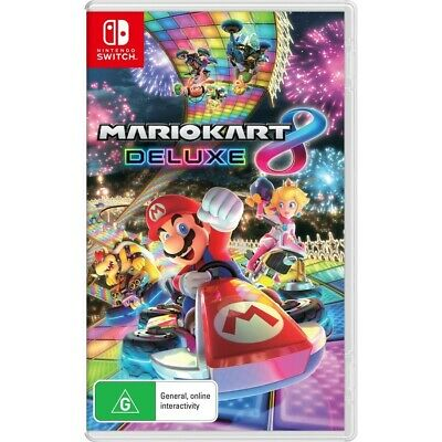 AU69 • Buy Mario Kart 8 Deluxe Nintendo Switch Game Brand New