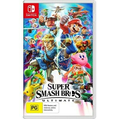 AU79 • Buy Super Smash Bros Ultimate Nintendo Switch Game Brand New