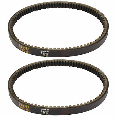 $ CDN23.49 • Buy 2PC Go Kart Drive Belt Yerf Dog 203591 Q430203W Q43103W Q43203W Manco Comet 30
