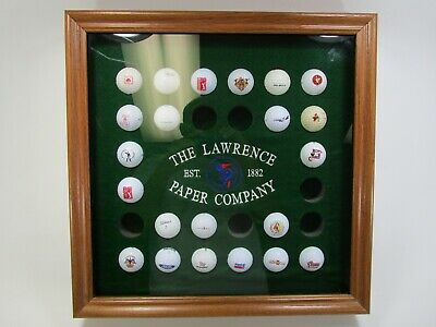 Golf Ball Holder Display Case Jayhawk The Lawrence Paper Company Lawrence Kansas • 35.76£
