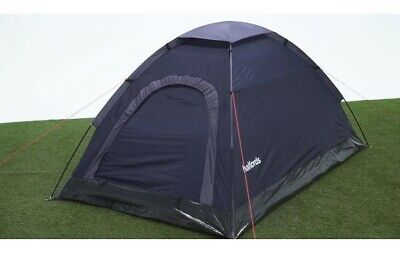 £22.50 • Buy Halfords 2 Person Dome Tent - Navy - Festivals - Summer