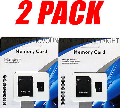 2 Pack 1TB Micro MEMORY CARD Class 10 TF 1024GB XC Storage Flash For SD Adapter • 15.39$