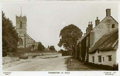 £6 • Buy Real Photographic Postcard Of Thornton-le-dale, North Yorkshire By Lilywhite