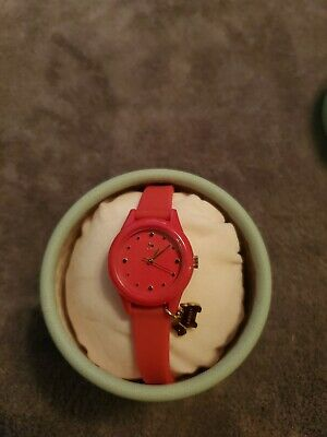 $45 • Buy RADLEY Women's Watch  Silicone Strap Watch, Pink, NEW WITH TAG IN BOX