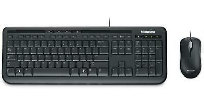 AU59.90 • Buy Genuine Microsoft Wired Desktop 600 Keyboard And Mouse Set