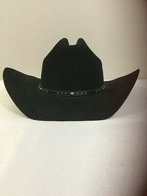 969d66cc13fbba Justin Rodeo 100% Wool XX Cowboy Hat Never Worn, Black, Size 7 3