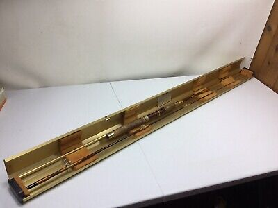 "$155 • Buy Vintage Garcia Conolon  Fishing Rod 6' 6.5"" Gold Plated Case"