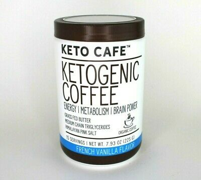 $19.75 • Buy Keto Cafe Ketogenic Coffee Energy/Metabolism/ Brain Power MCT French Vanilla New