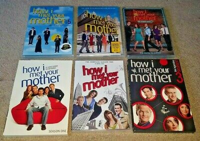 $34.95 • Buy How I Met Your Mother Complete Season 1 2 3 5 6 7 DVD Box Sets LIKE NEW & SEALED