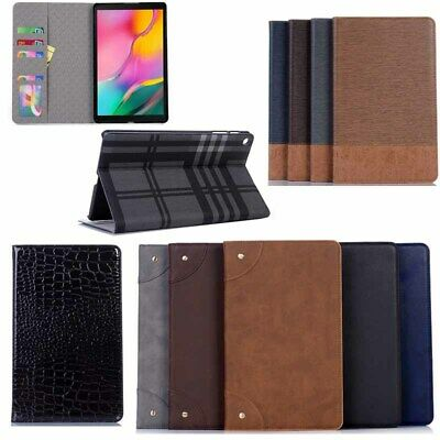 AU26.58 • Buy Luxury Leather Smart Wallet Case Cover For Samsung Tab A 10.1  T510 T515 Tablet