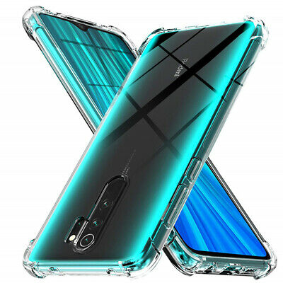 $2.98 • Buy For Xiaomi Redmi 9A 8A 7A Note 9S 9 8 7 Pro Shockproof Clear Silicone Cover Case