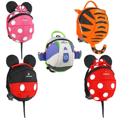 LittleLife Toddler Child Disney Daysack Backpack With Safety Reins  • 24.75£