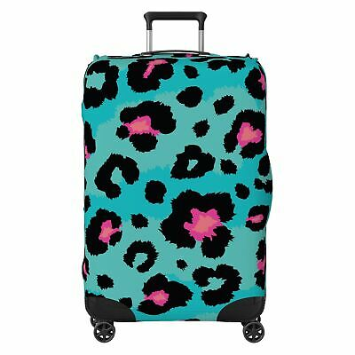 Modern Animal Spots SUITCASE COVER Skin Protector Turquoise • 18.99£