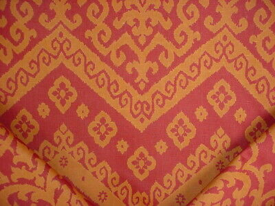 $ CDN101.90 • Buy 1-1/2Y Kravet Dressur 24 Sienna / Gold Printed South West Ikat Upholstery Fabric