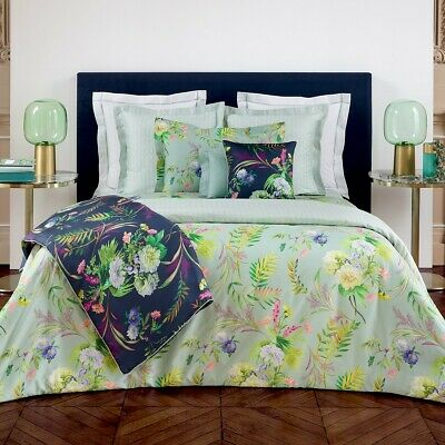 Yves Delorme | Bouquets Duvet Cover 300tc Egyptian Cotton 60% Off Rrp • 104.04£