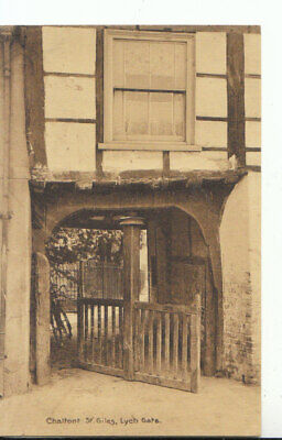 £2.19 • Buy Buckinghamshire Postcard - Chalfont St Giles - Lych Gate - Ref 10642A