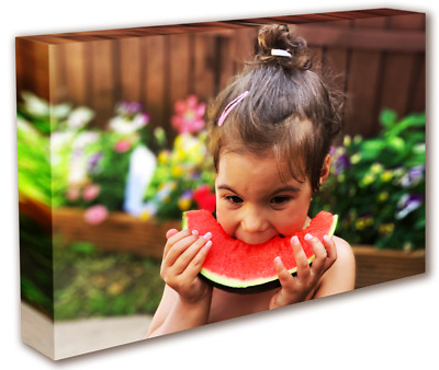 Custom Canvas Print Your Photo On Personalised Canvas Large Box Ready To Hang • 10.99£