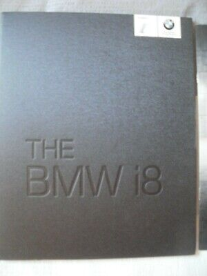$13.52 • Buy BMW I8 Brochure And Price 2014