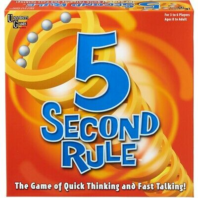 AU19 • Buy University Games 5 Second Rule Board Game