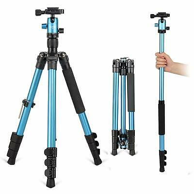 AU51.84 • Buy ZOMEI 62.5  Pro Tripod Monopod Travel Camera Aluminum Ball Head For SLR Camera
