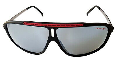 Lacoste Unisex Sunglasses Black/red (001), Filter Category 3 • 49.99£