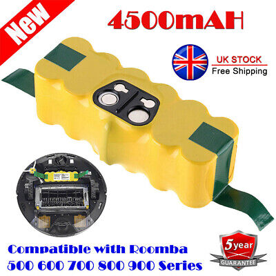 Battery For IRobot Roomba 500 600 700 800 595 620 630 650 660 790 780 880 4.5Ah • 18.99£
