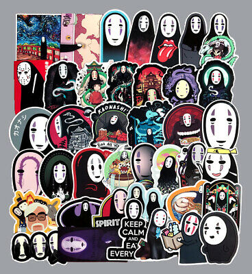 $ CDN10.59 • Buy 40PCS Anime Spirited Away No Face Man Luggage Suitcase Refrigerator Stickers