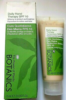 £5.99 • Buy Boots Botanics Daily Hand Therapy SPF 10 75ml