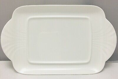 Villeroy & And Boch ARCO WEISS White Butter Dish Plate 21cm • 39.99£