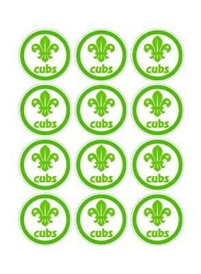 12 Cubs Party Stickers • 1.50£