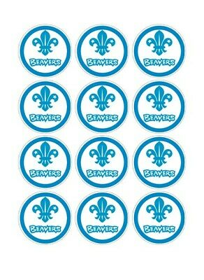 12 Beavers Party Stickers • 1.50£