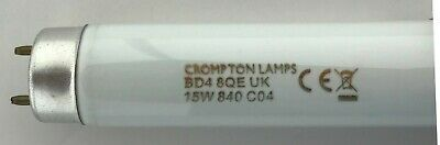 15W T8 Cool White Tube  F15/840 Blub 438 Mm Excluding Pins Crompton Known As 18  • 7.20£