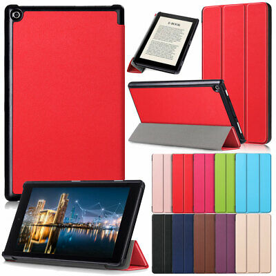 Smart Leather Shockproof Cover Case For Amazon Kindle HD8 8th Generation 2018 • 7.98£