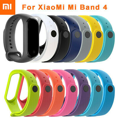$0.99 • Buy New For Xiaomi Mi Band 4 Replacement Silicon Wristband Wrist Band Strap Bracelet