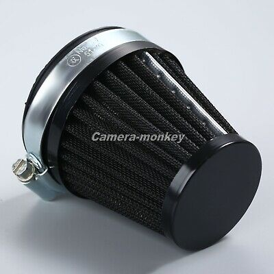 £6.99 • Buy 60mm Motorcycle Air Filter Vent Cone Clamp-on Pod Cleaner Universal Capacity