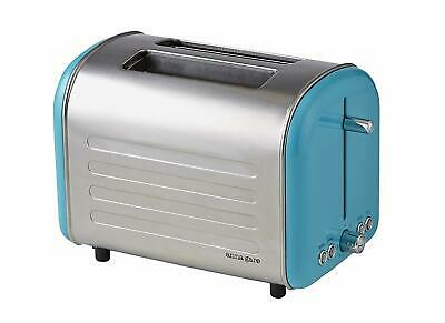 AU47.48 • Buy ANNA GARE Retro Toaster, Stainless Steel/Blue