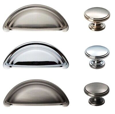 FTD COTTAGE Cabinet Cupboard Kitchen Wardrobe Door Handles CUP & KNOBS To Match • 2.99£